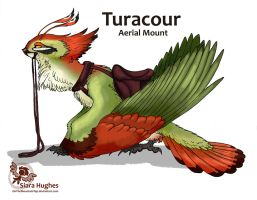 Turacour - Aerial Mount Design by OnTheMountainTop