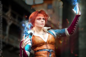 Witcher - The Sorceress by Fenyachan