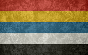 Republic of China ~ Grunge Flag (1912 - 1928) by Undevicesimus