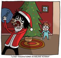 PD: Santa L and the cookies by jknozmo