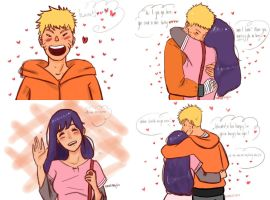 naruhina month day 10 - dating by Jesslynnnj