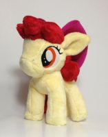 My Little Pony - AppleBloom custom plush by Kitamon