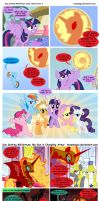 Sun Setting Misfortune MLP Comic: Double Feature by teammagix