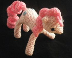 Pinkie Pie Crochet Doll 3 by ChibiSayuriEtsy