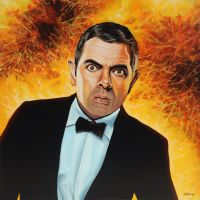 Rowan Atkinson alias Johnny English by PaulMeijering