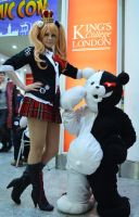 Junko and Monobear II by JustPeachyCosplay