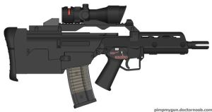 Bullpup G-36 by GeneralTate