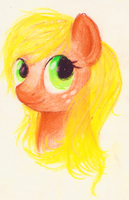 Applejack Portrait by Rizzych