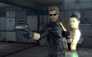 Wesker And Excella by Kodakcx7430