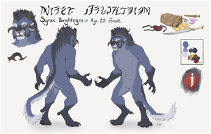 Syrax Brighteyes Ref by TigresToku