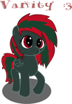 Dahvie Vanity as a pony by TEchno-COwboy