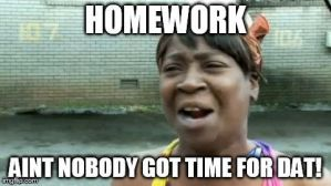 I HATE Homework by KittieCat1103