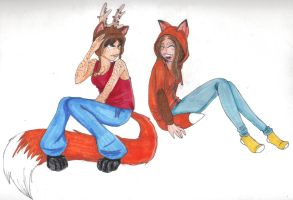 Thanx for the hat :D by Bitty-kitsune
