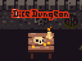 animated main screen for a roguelike Dice Dungeon by Madgharr