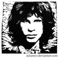 Jim Morrison by JuliaMyr