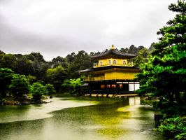 Golden Pavillion 2 by elfullero
