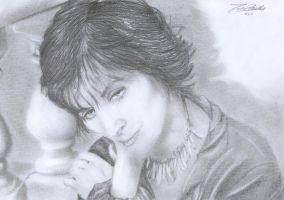 Enya - portrait by janston