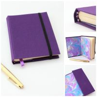 Purple Journal Moleskine by GatzBcn
