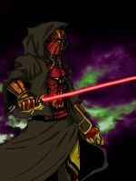 Sith Warrior by CardinalInk