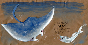 The Ray and the Remora by Lemguin