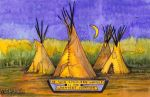 Teepees by deviantmike423