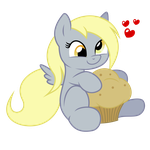 Derpy by Mamandil