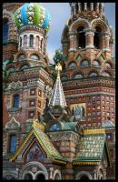 Church of the Savior on Blood by Gentio