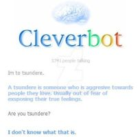 Tsundere cleverbot by vantasexy