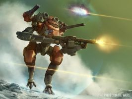 The Protectorate Wars - Neural Mech by Shimmering-Sword