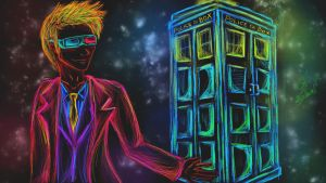 Tenth Doctor by Ravers-Disease