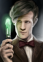The 11th Doctor by dancinghamtoro