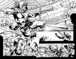 Green Arrow 4 pag14-15 by airold