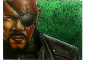 Nick Fury by chrisfurguson