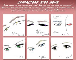 Eye meme by CrazyAndHyper