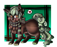 OC: My mint chocolate chip Muffin bae by sariasong64