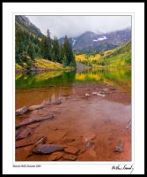 Maroon Bells Autumn 2008 by kennedmh