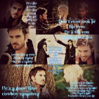 Hook Is A Cowboy Casanova by Scarletteileen