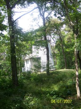 light house in woods by Paige-1