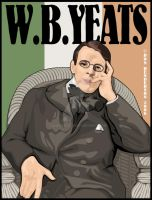 William Butler Yeats by yankeedog