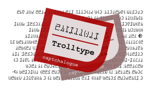 Trolltype 11 - A font for Homestuck Trolls by Sudrien