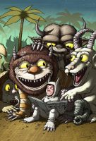 Tribute to Maurice Sendak by nevercrew