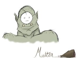 Cry have some mutton by NyahNikki
