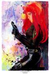 Black Widow  (Avengers Collection) by j2Artist