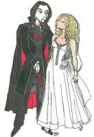 Dracula and Lucy by XantheDaemon