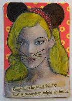 Playboy Mousie ATC by hogret