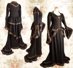 Steampunk Victorian dress, by Somnia Romantica by SomniaRomantica