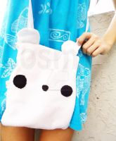 Polar Bear Bag by CosmiCosmos