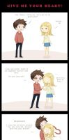 Give me your heart Comic by Yuuza