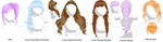 Hair Pack 3 (Download in Descript.) by Kitsuna020