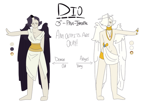 Dio - Reference Sheet by weedxat